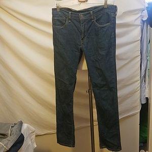 LEVI'S 511 Slim Fit Jean, Medium Wash 33x32